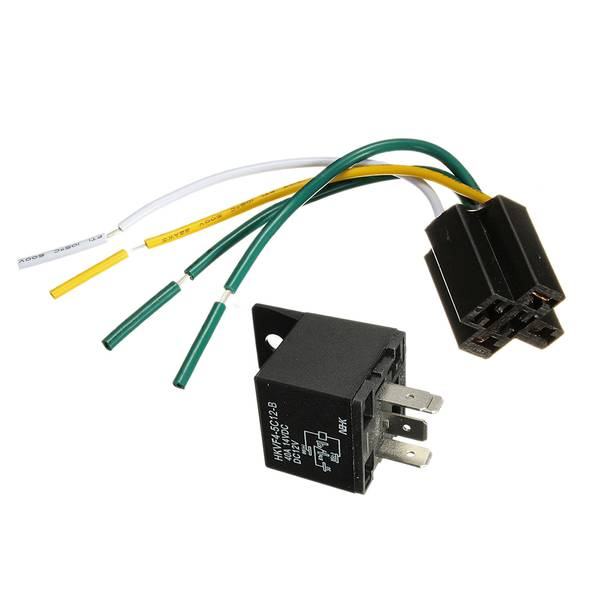 Unbranded Car auto dc 12v volt 30 40a automotive 4 pin 4 wire relay and so