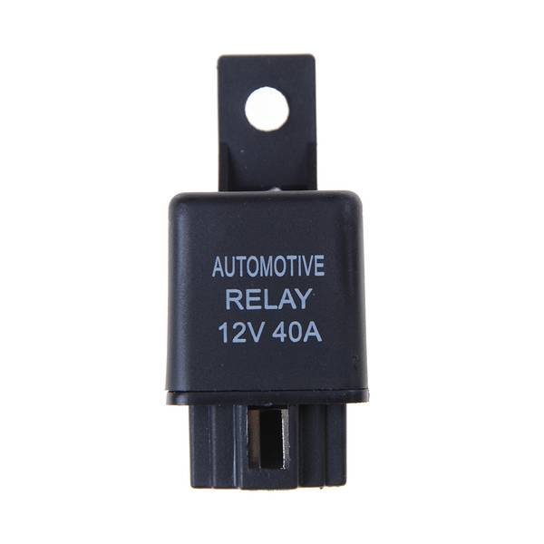 Unbranded 12v 40a car automotive relay 4 pins spst alarm relay with relay