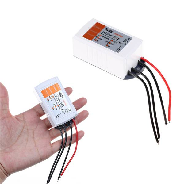 Unbranded Dc 12v 18w power supply led driver adapter transformer switch fo