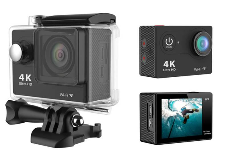 Unbranded Actionkamera h9 4k/12mp/hd 1080p