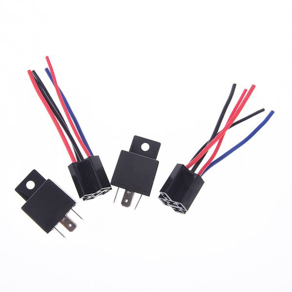 Unbranded 1pcs dc 12/24v 40a car spdt automotive relay 5 pin 5 wires w/har