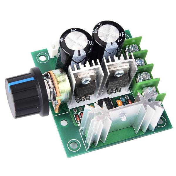 Unbranded 12v~40v 10a pwm dc motor speed control switch controller volt re