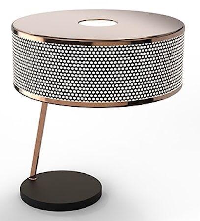Delightfull Marcus bordslampa – Koppar, svart