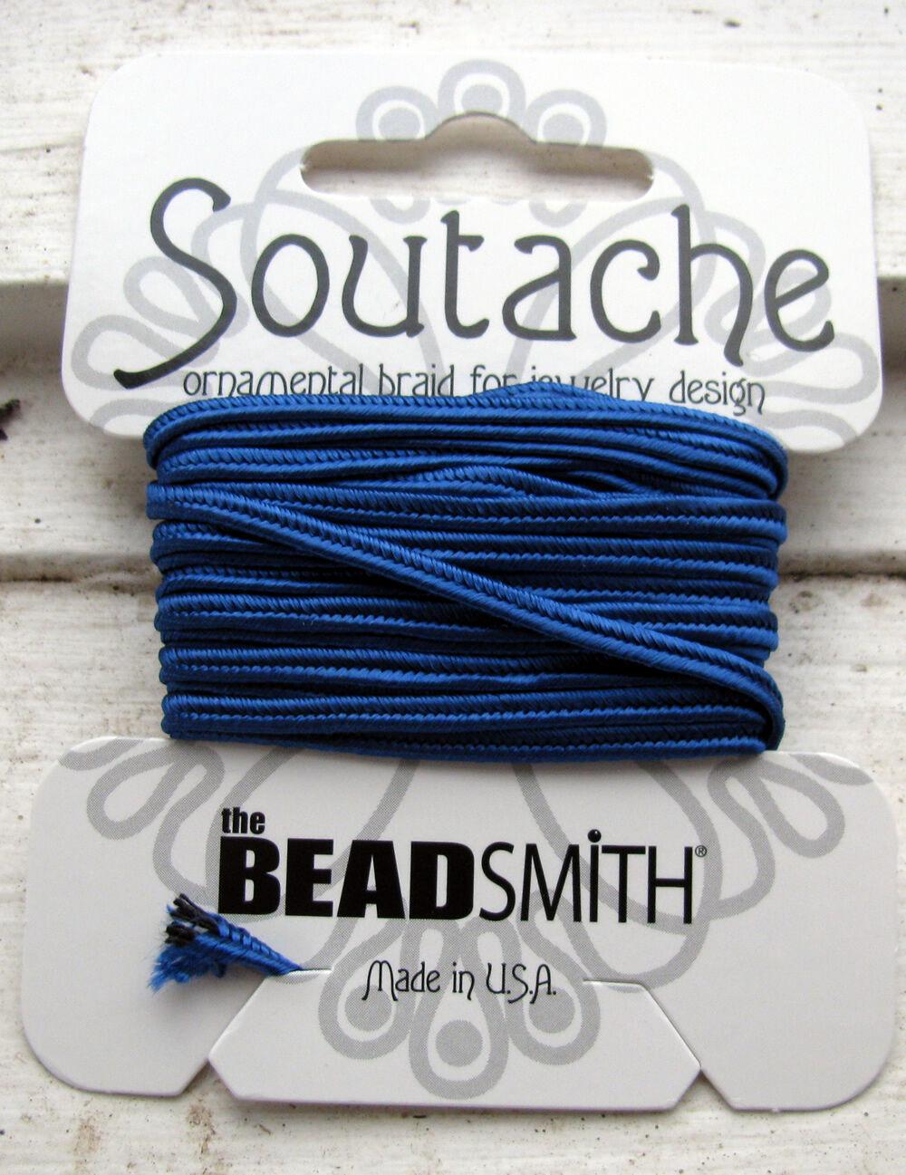 Soutache band - Royal Blue, 1 förpackning (3 yards)