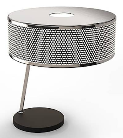 Delightfull Marcus bordslampa – Nickel, svart