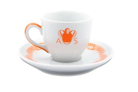 Anitha Schulman Porslin Stories from the sea espressokopp inkl fat – Hermès, 2-pack