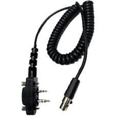 3M Peltor FL6U-64 FLEX-kabel till ICOM F33, F43, F34 och F44