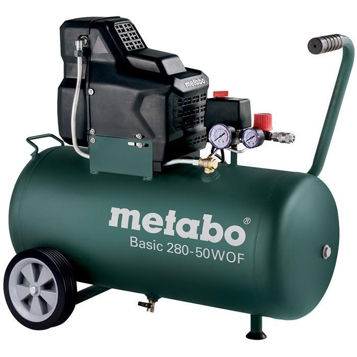 Metabo Basic 280-50 W OF Kompressor med 50 liters behållare