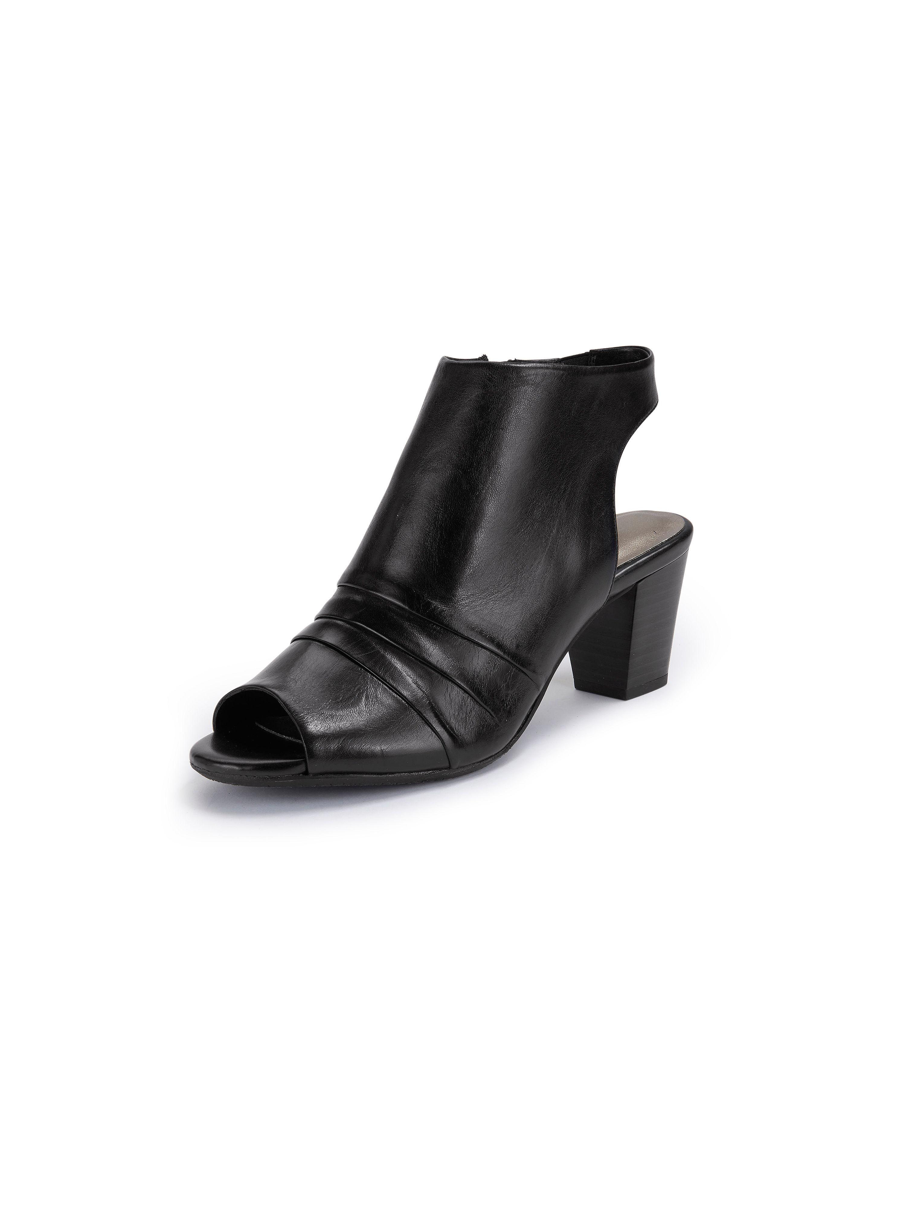 """Weber Sandaler """"Lotta"""" i äkta läder från Gerry Weber svart"""
