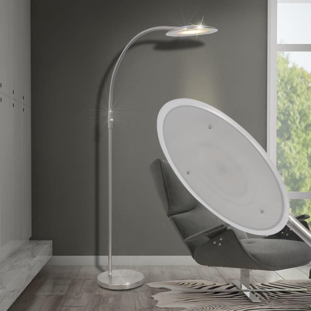 vidaXL Dimbar LED Båge Golvlampa 18 W