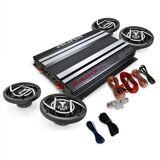 """Auna """"Platinum Line 400"""" 4.0 bil-HiFi-set förstärkare högtalare"""