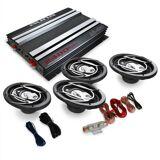"""Auna """"Platinum Line 420"""" 4.0 bil-HiFi-set förstärkare högtalare"""