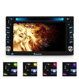 "Auna MVD-480 Moniceiver DVD CD MP3 USB 6,2"" touchskärm HD"