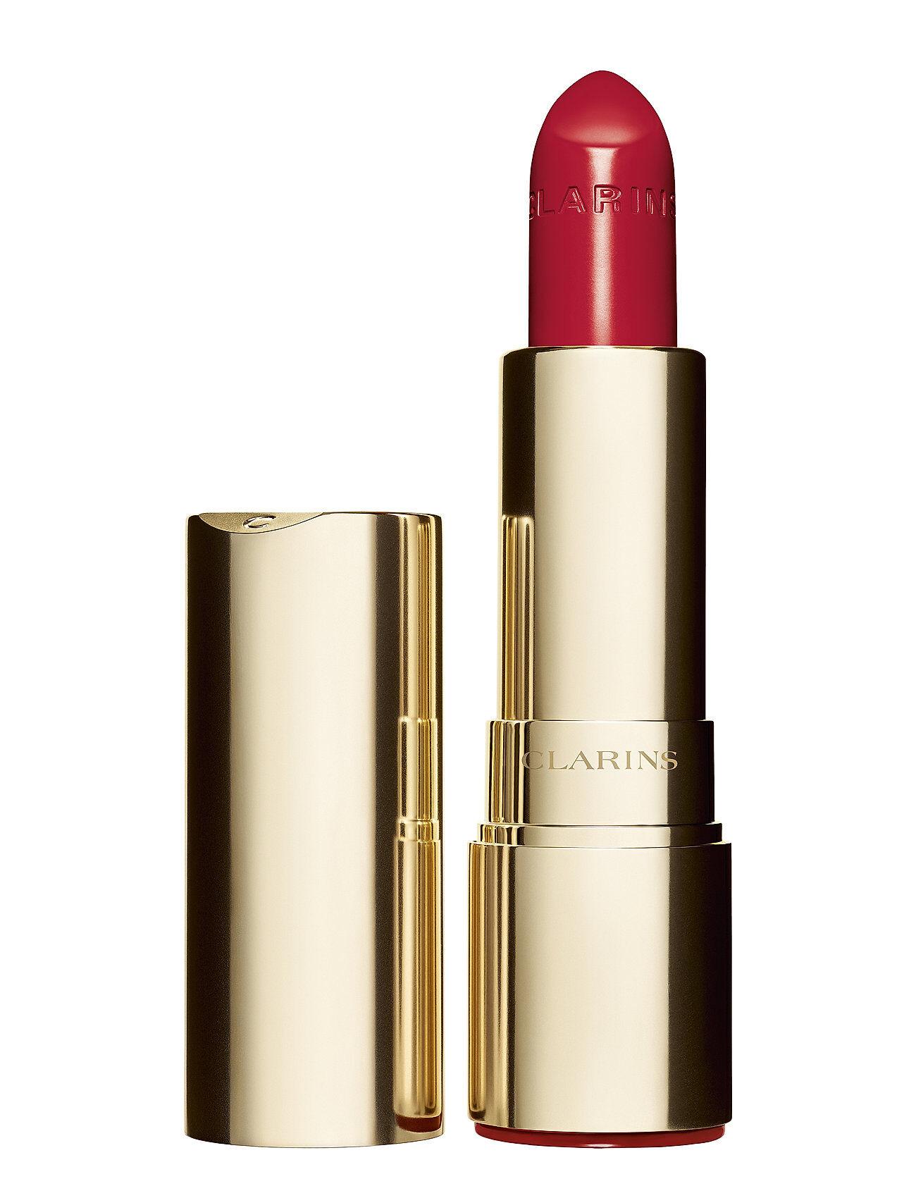 CLARINS Joli Rouge Lipstick 760 Pink Cranberry Läppstift Smink Röd CLARINS