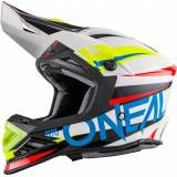 Oneal O´Neal 8SERIES Aggressor Motocross hjälm Vit 2XL