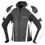 Büse Monza Motorcykel läder jacka Svart Vit 52