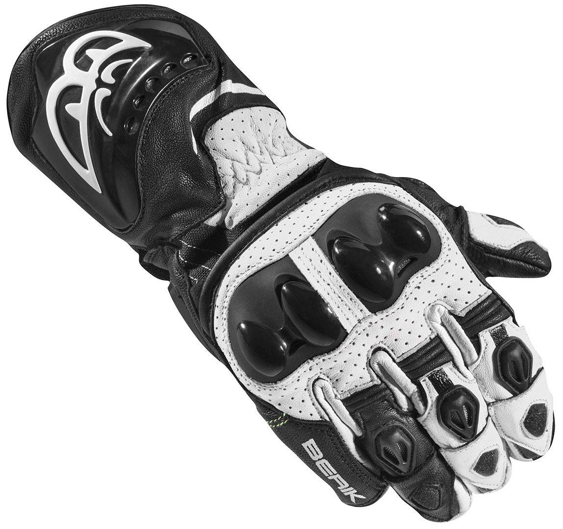 Berik Spa Evo Motorcykel handskar Svart Vit M