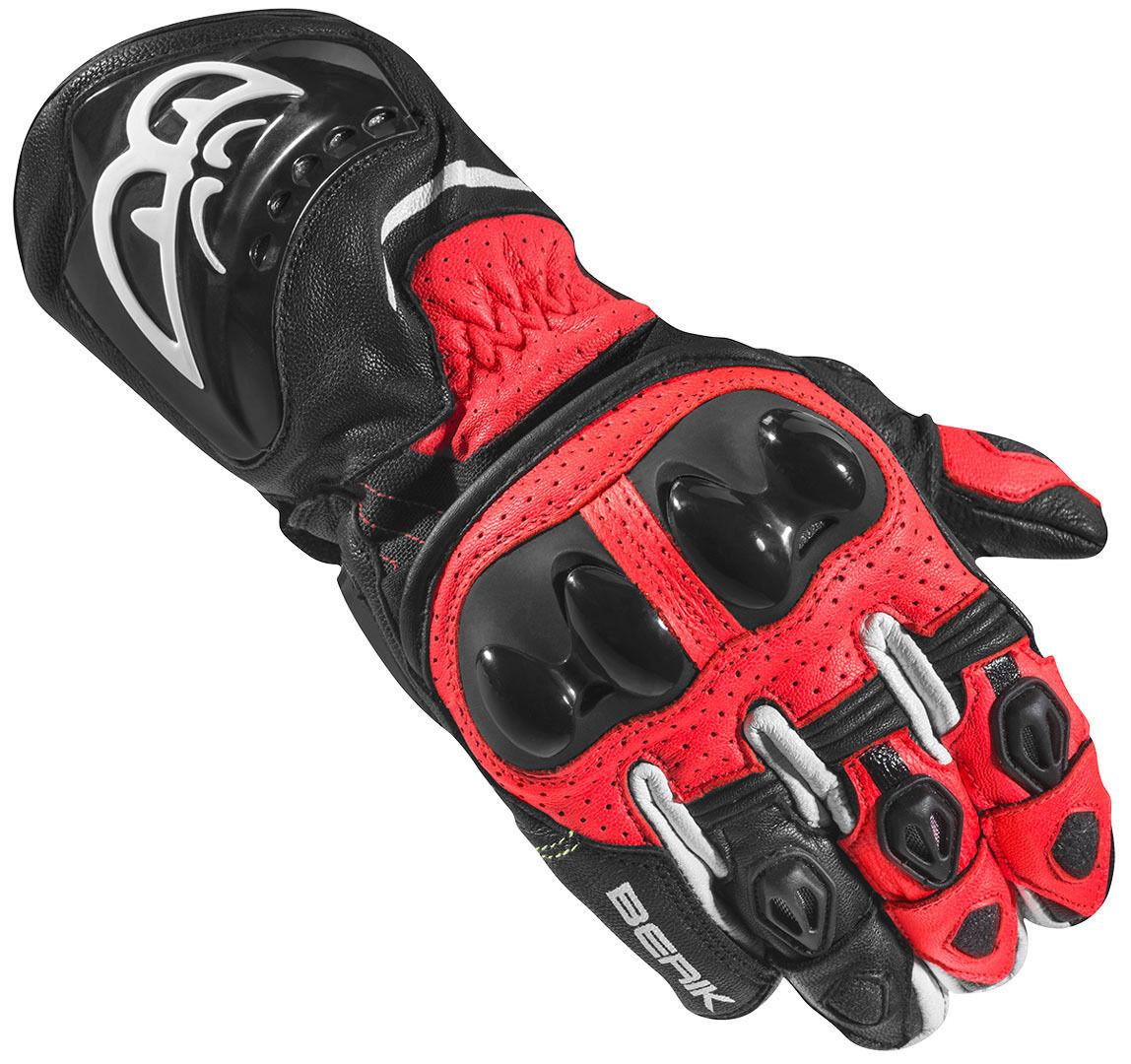 Berik Spa Evo Motorcykel handskar Svart Röd M