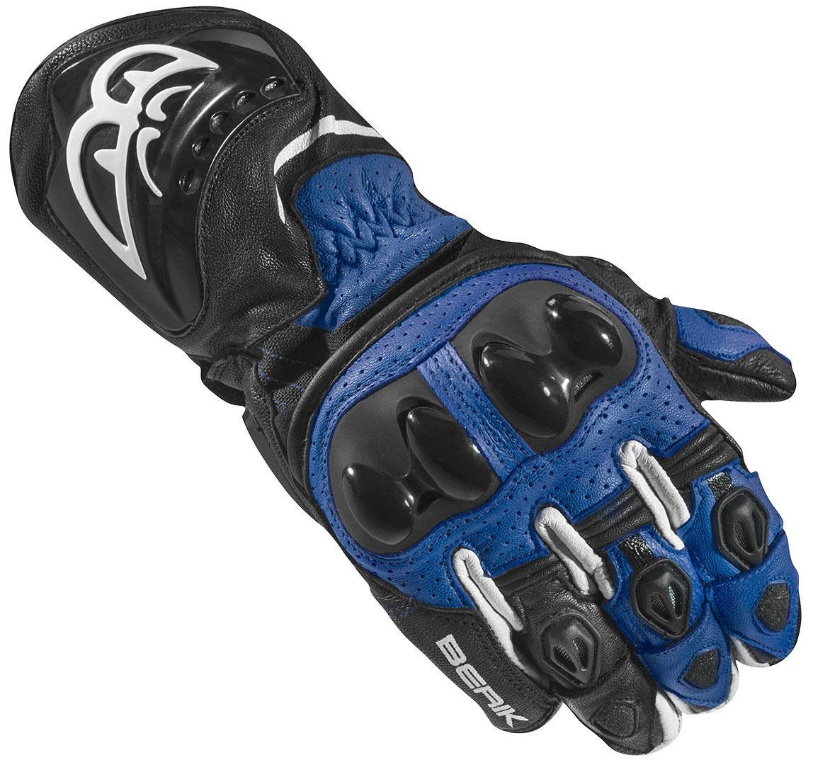 Berik Spa Evo Motorcykel handskar Svart Blå M