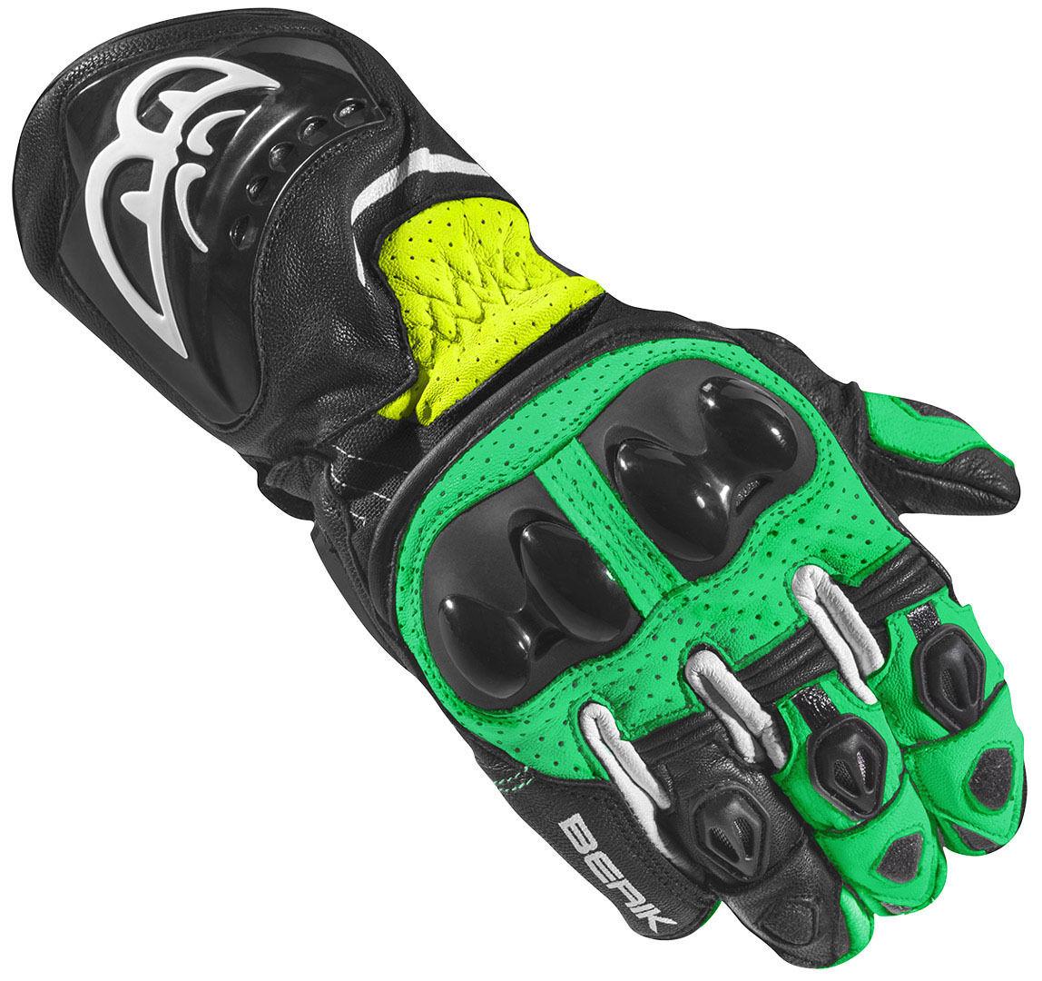 Berik Spa Evo Motorcykel handskar Svart Grön M