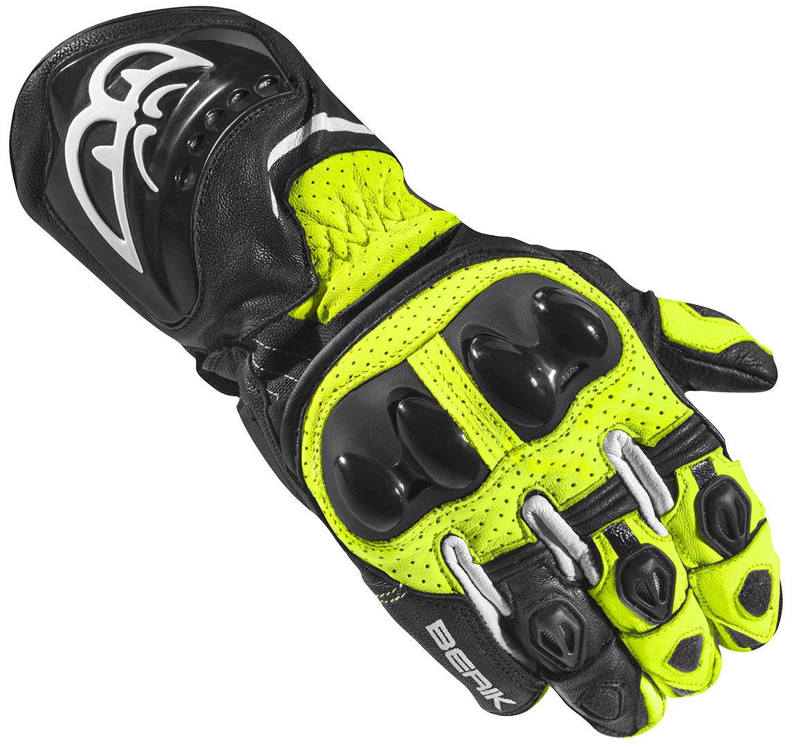 Berik Spa Evo Motorcykel handskar Svart Gul M