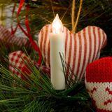 Konstmide CHRISTMAS Komplettering LED-julgransbelysning trådlös 5 ljus