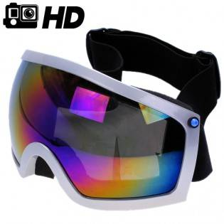 Slalomglasögon med HD-actionkamera