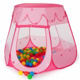 tectake Lektält med 100 bollar rosa av tectake