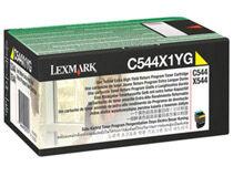 Lexmark Toner Lexmark C544X1YG 4k gul