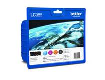 Brother Bläckpatron Brother LC985V Value Pack CMYK