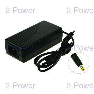 2-Power LCD Monitor AC Adapter 12V 4.16A 50W