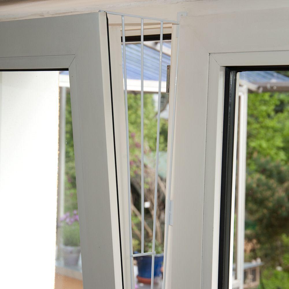 Trixie skyddsnät i vitt för pivotfönster - Format 1: Fönstrets sida