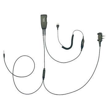 Icom ProEquip PRO-U700LA 4-i-1, koppla Peltor till Icom och Smartphone - svart PTT