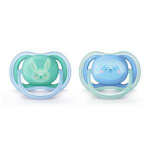Philips Avent Ultra Air soother, 6-18m, blue deco