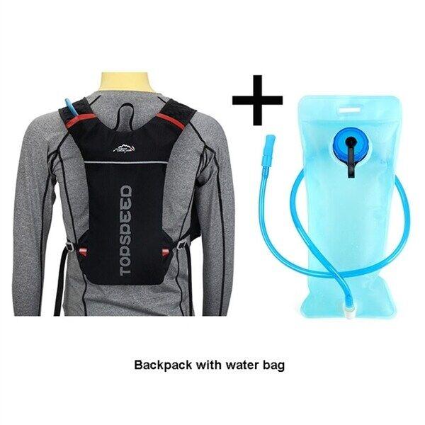 Vattenryggsäck / vätskeryggsäck med behållare