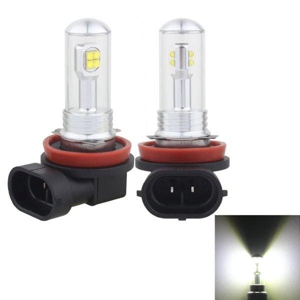 Led Dimljus H8/H11 40W 800 LM 6000K 8 CREE LEDs Car Fog Lights, DC 12V(White Ligh