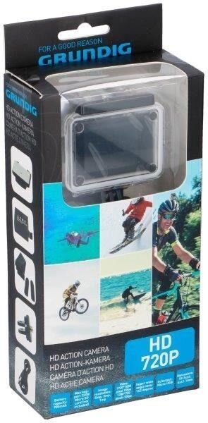 Actionkamera HD 720P Sportkamera med 10 tillbehör