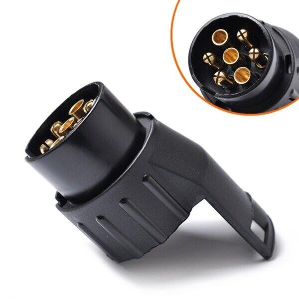 Biluttag adapter 12V 7- 13 pinn för släpvagn/lastbil /buss, europeisk bil