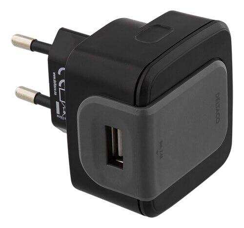 Deltaco Väggladdare 240 till 5V USB,2.4A