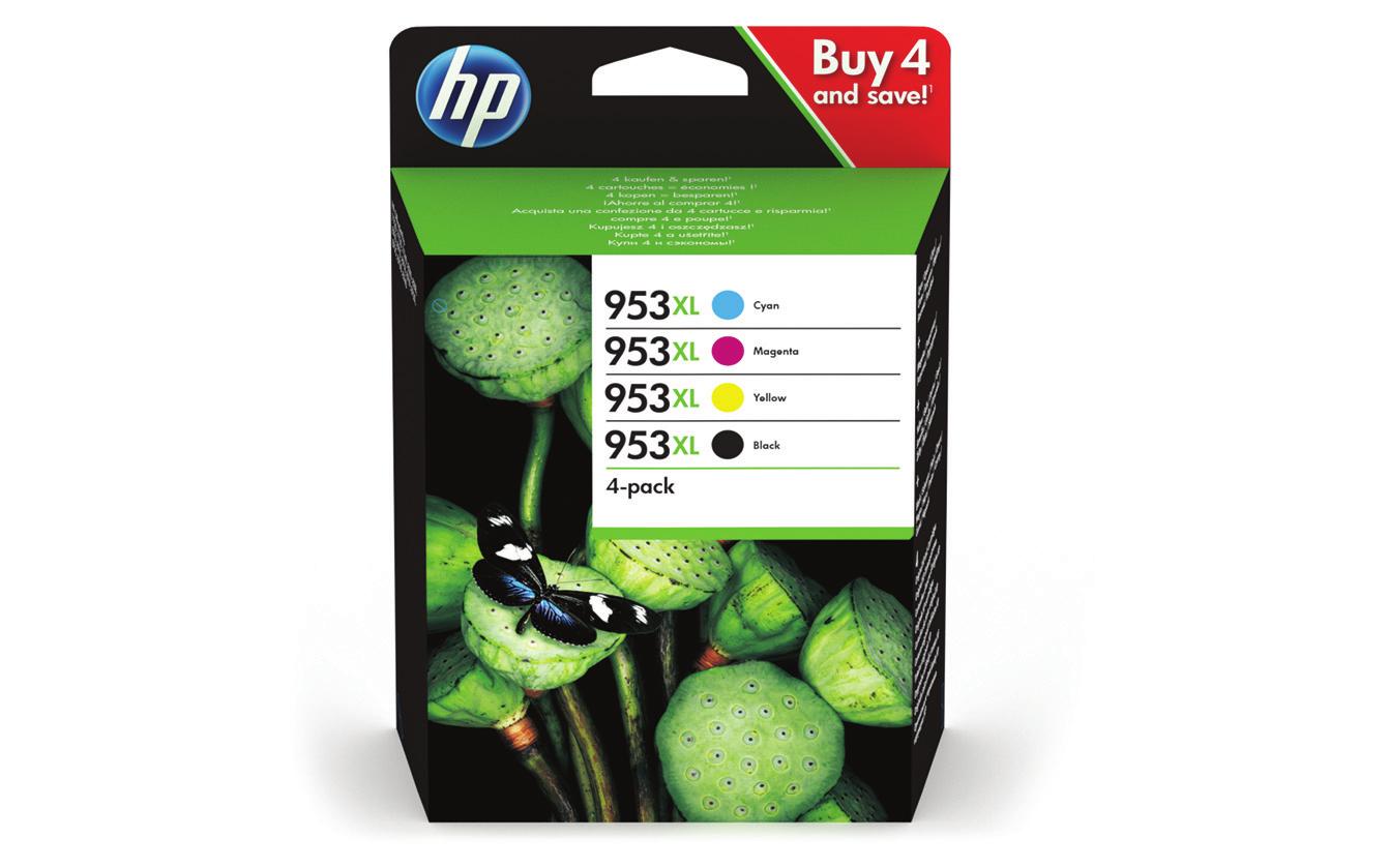 HP Bläck HP 953XL CMYK 4/fp