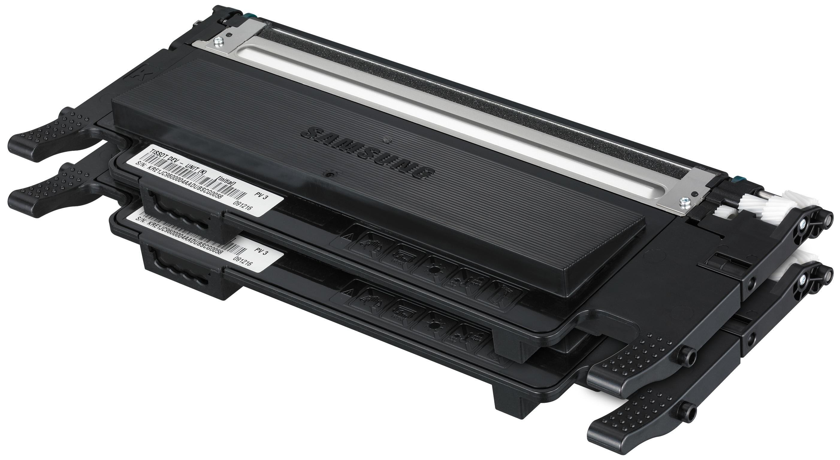 Samsung CLT-P4072B Rainbow kit - 2-pack - svart