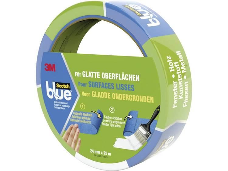 3M Maskeringstejp ScotchBlue™ Blå (LxB) 25 m x 24 mm 3M 7100032330 1 rullar (n)