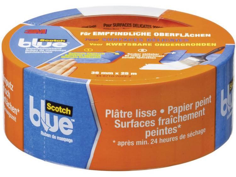 3M Maskeringstejp ScotchBlue™ Blå (LxB) 25 m x 36 mm 3M 7000049412 1 rullar (n)