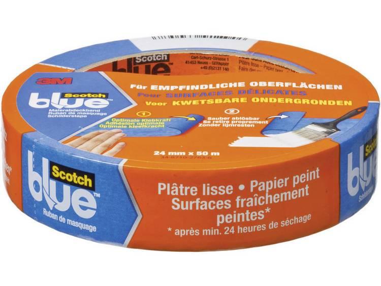 3M Maskeringstejp ScotchBlue™ Blå (LxB) 50 m x 24 mm 3M 7000049401 1 rullar (n)