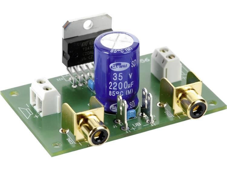 Conrad Components Stereo-förstärkare Komponent 9 V/DC, 12 V/DC, 18 V/DC 40 W 2 Ohm