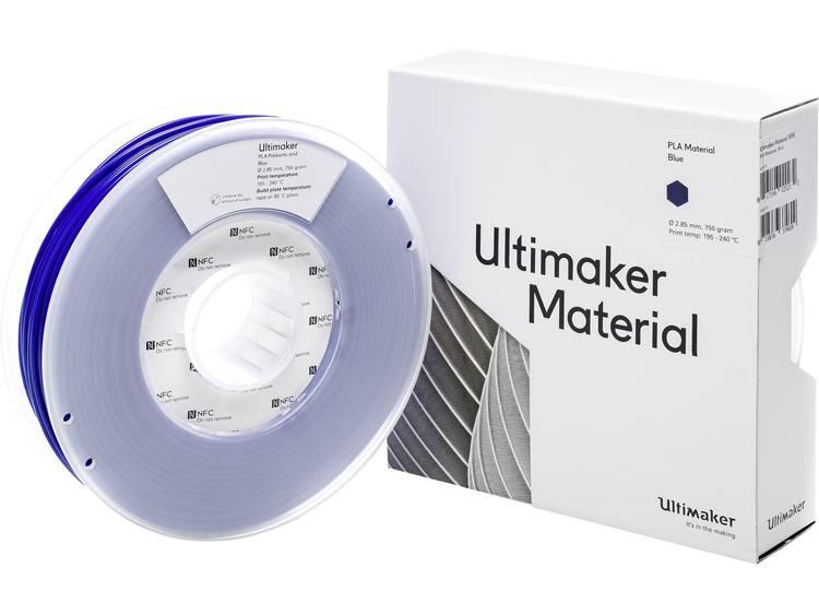 Ultimaker PLA - M0751 Blue 750 - 211399 3D-skrivare Filament PLA-plast 2.85 mm Blå 750 g