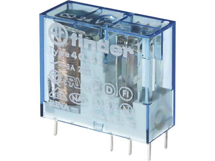Finder 40.52.7.012.0000 Kretskort-relä 12 V/DC 8 A 2 switch 1 st