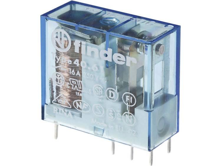 Finder 40.61.9.012.4000 Kretskort-relä 12 V/DC 16 A 1 switch 1 st