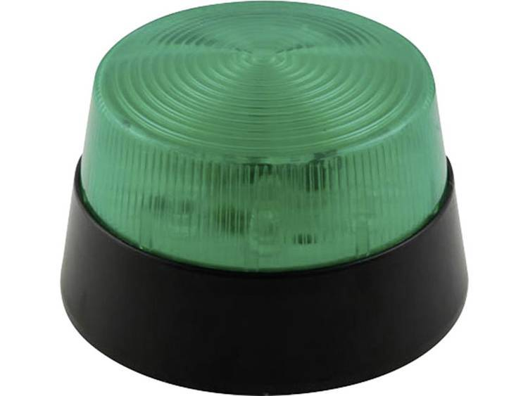 Velleman Signallampa LED Velleman HAA40GN Grön Blixtljus 12 V/DC