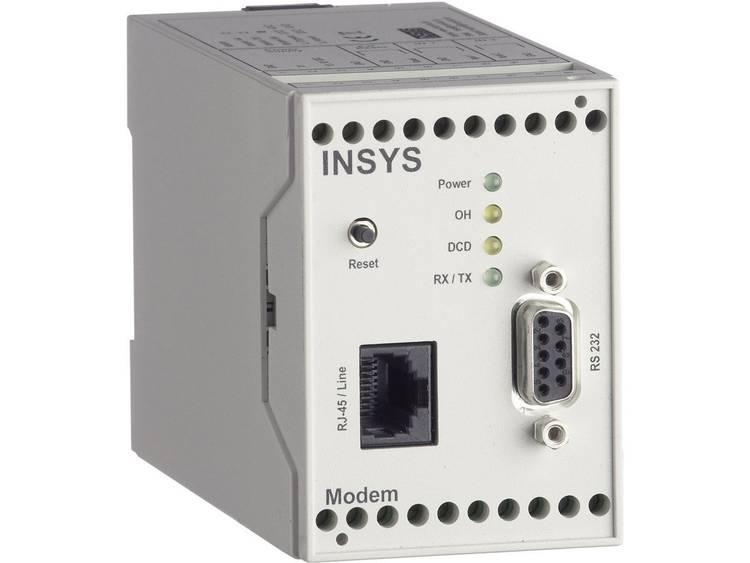 Insys Modem Insys 11-03-01-01-40.028 RS 232 12 V/DC, 24 V/DC, 48 V/DC, 60 V/DC